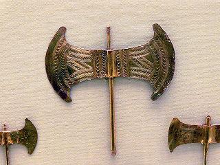 Labrys Cretan double-bladed axe