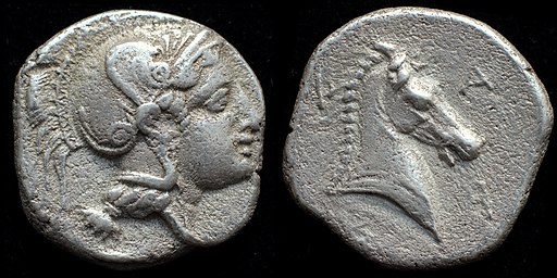 AR hemidrachm of Pharsalos