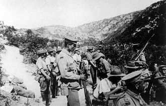 10th Battalion (Australia) - Troops from the 10th Battalion at Gallipoli, August 1915
