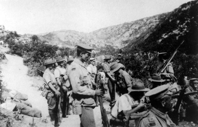 AWM C01101 Australian 10th Bn Gallipoli 1915