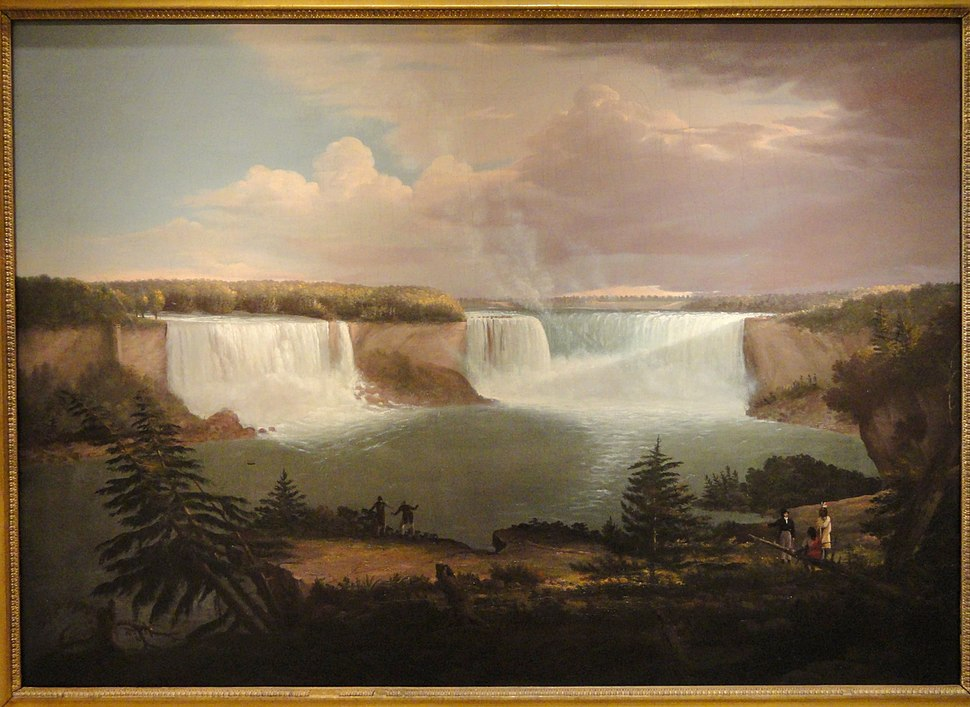A General View of the Falls of Niagara, 1820, by Alvan Fisher - SAAM - DSC00862