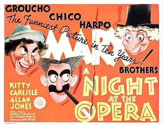 A Night at the Opera (film) - Lobby card
