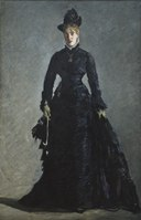 A Parisian Lady (Édouard Manet) - Nationalmuseum - 19127.tif