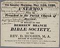 A Sermon 1820 Rev. D. Hughes.jpg