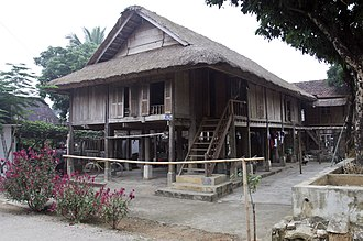 Mai Châu District - A Thai stilt house