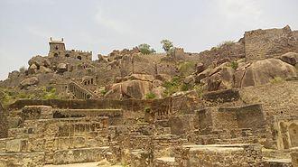 Golkonda - Golkonda Fort