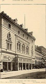 Garrick Theatre (New York City) former theatre in New York City