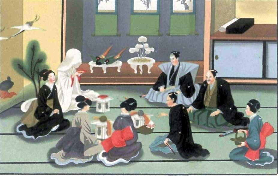 A japanese Wedding-J. M. W. Silver