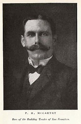 A picture of Patrick Henry McCarthy, 29th Mayor of San Francisco.jpg