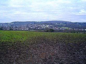 Dinas Powys - Image: A view of Dinas Powis geograph.org.uk 96955