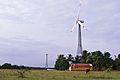 A windmill farm closeup Tamil Nadu India.jpg