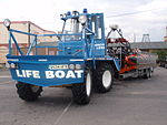 Aa Southport inshore rescue boat on trailer 02