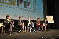 Aaron Sorkin - Jesse Eisenberg - David Fincher - Andrew Garfield - Justin Timberlake - The Social Network - 2010 New York Film Festival - 02.jpg