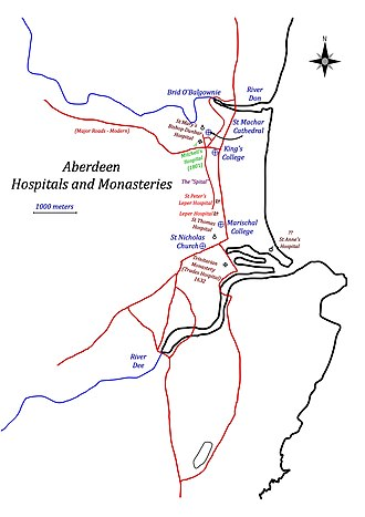Aberdeen Trades Hospitals - Aberdeen monasteries and hospitals
