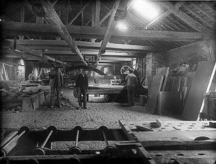 Aberllefenni quarry engine room