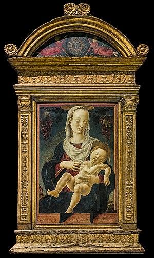 Cosimo Tura - Maddonna dello zodiaco Gallerie dell'Accademia