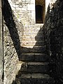 Access to tower of Castelo de Alcanede in June 2020.jpg