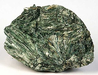 Crystal habit - Image: Actinolite 247712