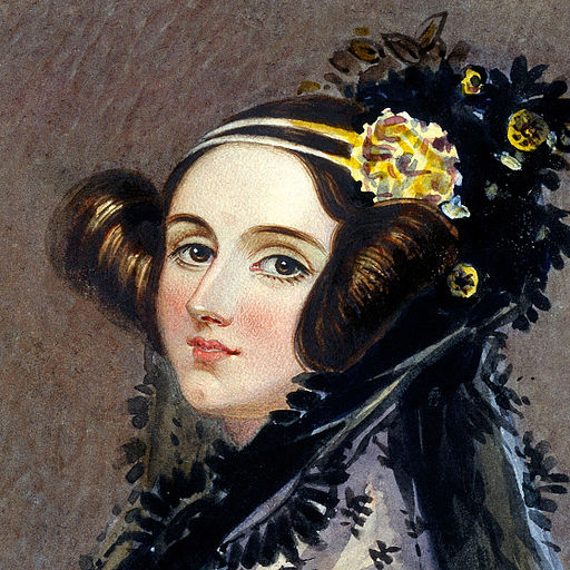 Ada Lovelace Chalon portrait