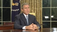 File:Address to the Nation by President George W. Bush on September 11, 2001.webm