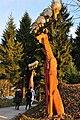 Aegerten auf dem Uetliberg, Bruno Weber's Hirsch-Sculpturen 2011-11-19 16-10-28.JPG