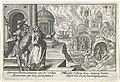 Aeneas daalt af in de onderwereld Speculum Aeneidis Virgilianae (serietitel), RP-P-OB-16.022.jpg
