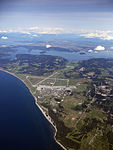 Aerial view of US Naval Air Station Whidbey Island in May 2014.JPG