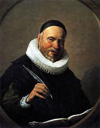 Pieter Bor - Pieter Bor, copy of his portrait by Frans Hals in 1634