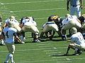 Aggies kick FG at UC Davis at Cal 2010-09-04.JPG