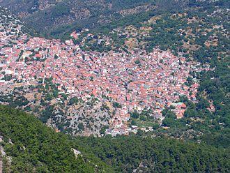 Lesbos - Agiasos village