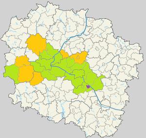 Bydgoszcz–Toruń - Image: Aglomeracja bydgosko toruńska