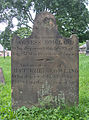 Agness and Matthew Bowland Tombstone, Oak Spring Cemetery, 2015-06-27, 01.jpg