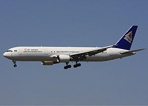 Air Astana - Air Astana Boeing 767-300ER