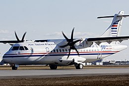 Air Saint-Pierre ATR 42-500 at Montreal Pierre Elliott Trudeau International.jpg