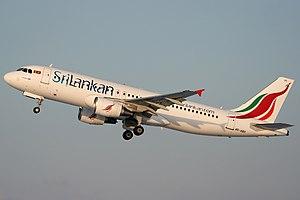 SriLankan Airlines - Airbus A320-214, SriLankan Airlines
