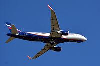 VQ-BSH - A320 - Aeroflot