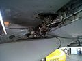 Airbus A320 disassembling fairing flaps (6199344086).jpg