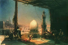 Aivazovsky - Scenes from Cairo's life