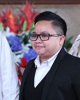 Ice Seguerra Filipino actor singer and Chairman of the National Youth Commission