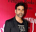 Akshay Kumar at Launch of his wife Twinkle Khanna's book 'Mrs Funnybones',in 2015.jpg
