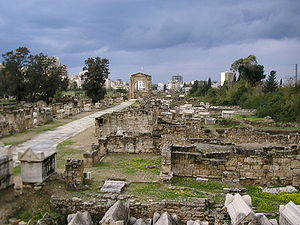 Europa (mythology) - The birthplace of Europa, Tyre, Lebanon