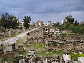Europa (consort of Zeus) - The birthplace of Europa, Tyre, Lebanon