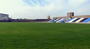 Alashkert Stadium - Image: Alashkert stadium new pitch