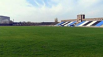 Alashkert Stadium - Image: Alashkert stadium new pitch