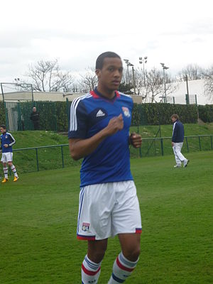 Alassane Pléa - Pléa training with Lyon in 2013