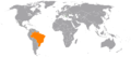 Albania Brazil Locator.png