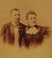 Albert Hubert Halder and Wife Maria Whilhelmina Heine 1897.jpg