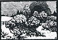 Albert König Wacholder im Schnee.jpg