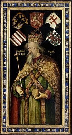 Segismundo da Hungria, Sagrado Imperador Romano e fundador da   Ordem do Dragão.