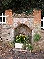 Alcove in garden wall , Greenway Road, Galmpton - geograph.org.uk - 368475.jpg